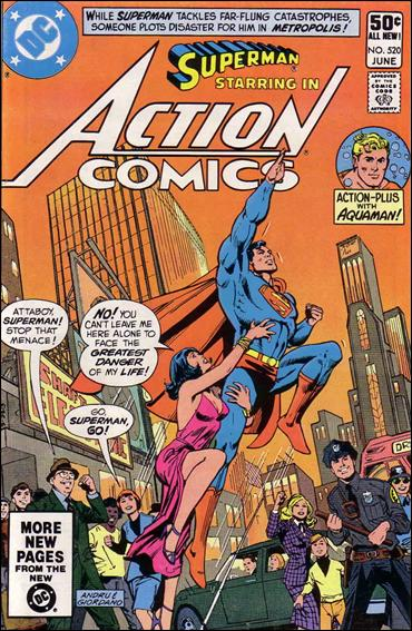 Action Comics (1938) 520-A by DC