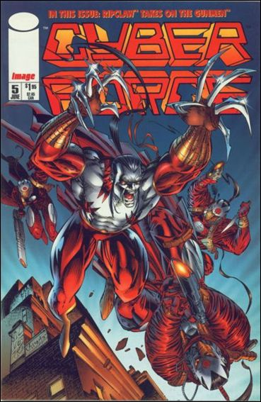 Cyberforce (1993) 5-A by Image