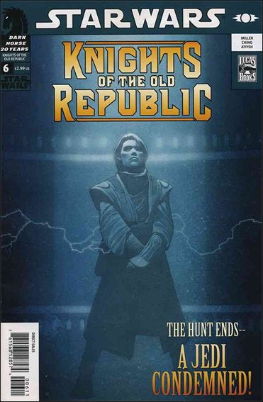 Star Wars: Knights of the Old Republic 6-A by Dark Horse