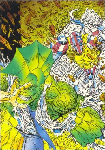 Savage Dragon (Base Set) 57-A by Comic Images