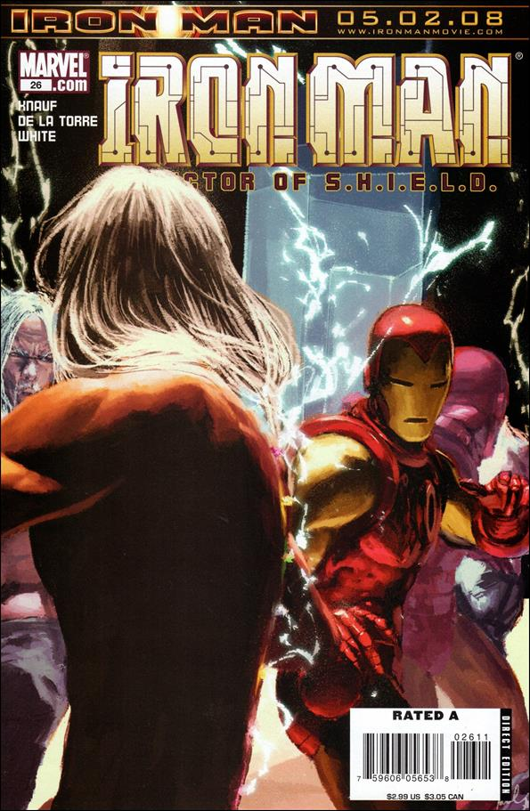 Invincible Iron Man (2005) 26-A by Marvel