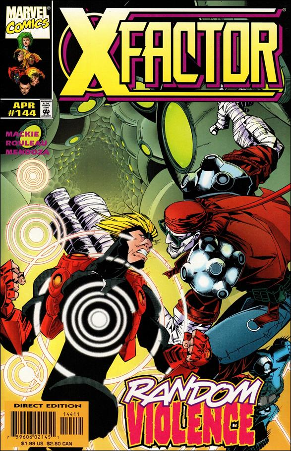 X-Factor (1986) 144-A by Marvel