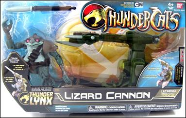 Thundercats 2011 Characters on Thundercats  2011  Vehicles And Accessories Lizard Cannon With Lizard