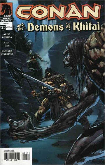 Conan and the Demons of Khitai 1-A by Dark Horse
