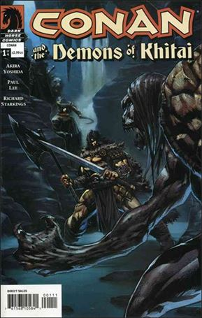 Conan and the Demons of Khitai 1-A