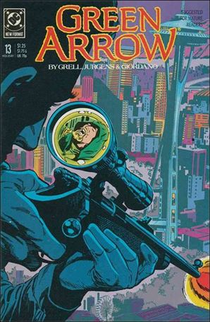 Green Arrow (1988) 13-A