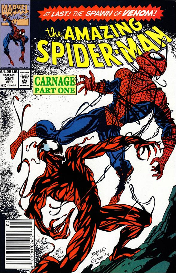 Amazing Spider-Man (1963) 361-A by Marvel