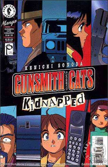 Gunsmith Cats: Kidnapped 6-A by Dark Horse