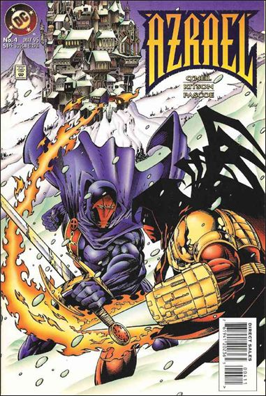 Azrael (1995) 4-A by DC