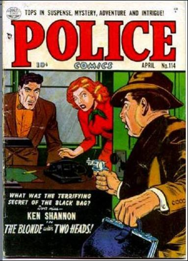 Police Comics 114-A by Comic Magazines