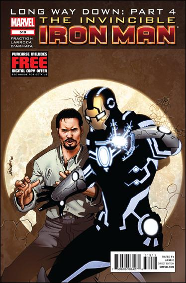 Invincible Iron Man (2008) 519-A by Marvel