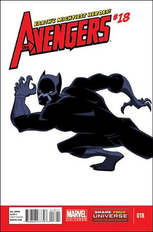 Avengers Earth's Mightiest Heroes (2012) 18-A
