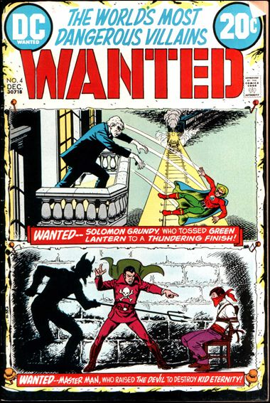 Wanted, the World's Most Dangerous Villains 4-A by DC