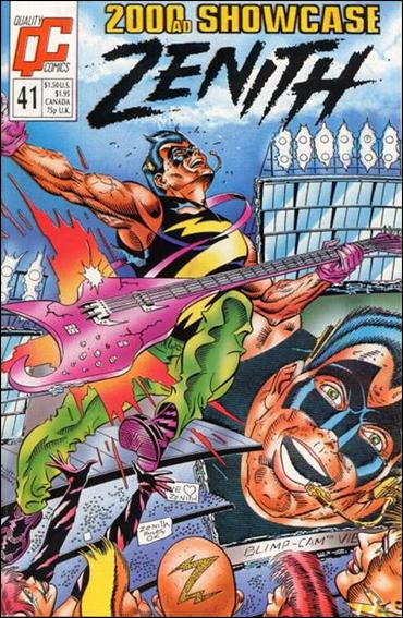 2000 A.D. Showcase (1988) 41-A by Quality Comics