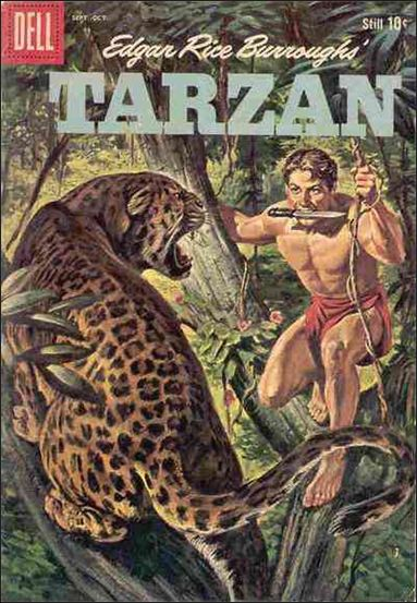 Tarzan (1948) 114-A by Dell