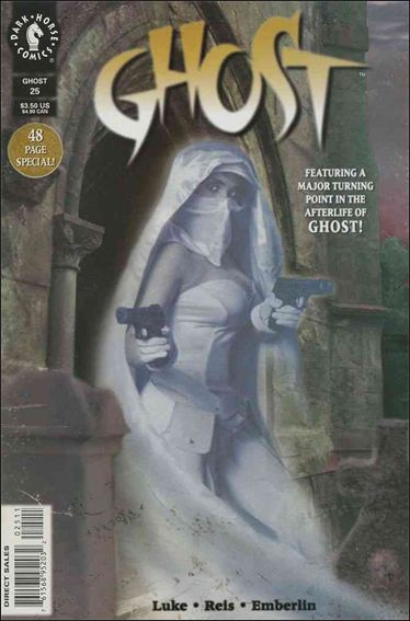 Ghost (1995) 25-A by Dark Horse