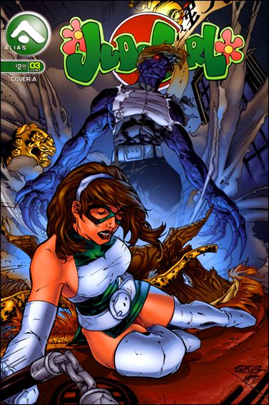 Judo Girl (2005) 3-A by Alias