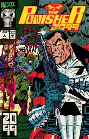 Punisher 2099 (1993) 5-A