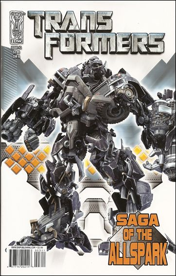 Transformers: Saga of the Allspark 3-B by IDW