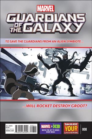 Marvel Universe Guardians of the Galaxy (2015/12) 8-A