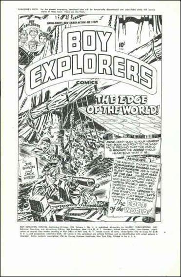 Boy Explorers Comics 2-A by Harvey