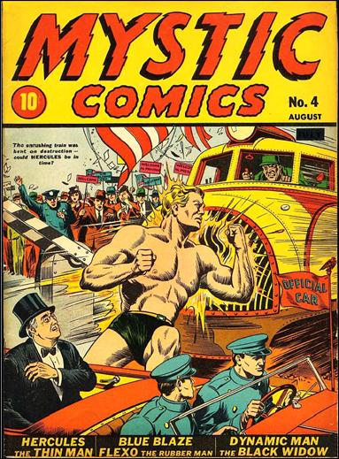 Mystic Comics (1940) 4-A by Timely
