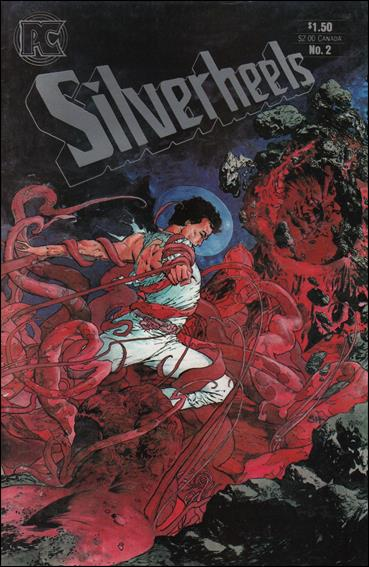 Silverheels 2-A by Pacific Comics