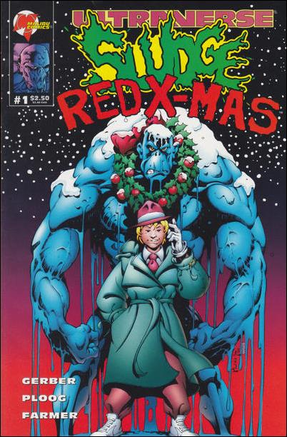 Sludge: Red X-Mas 1-A by Malibu