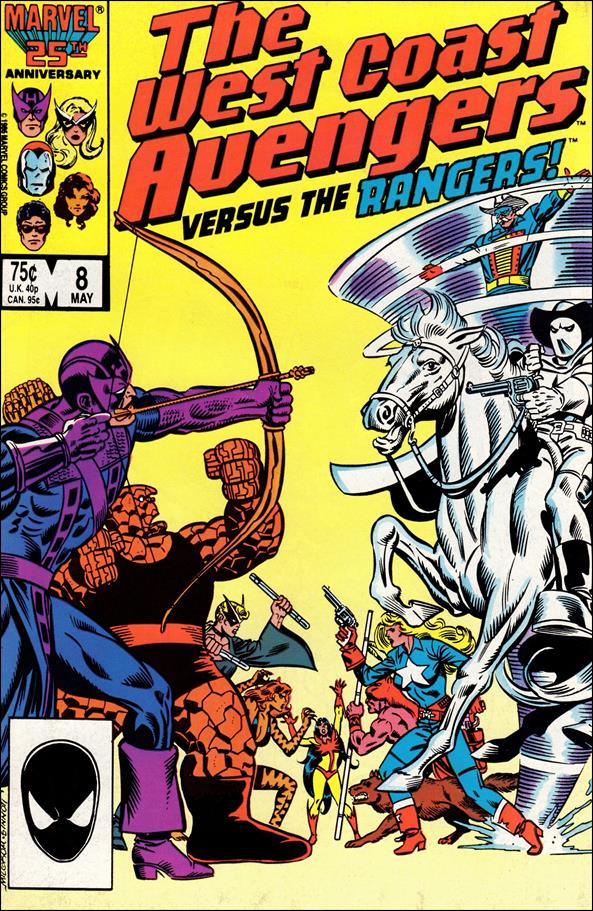 West Coast Avengers (1985) 8-A by Marvel