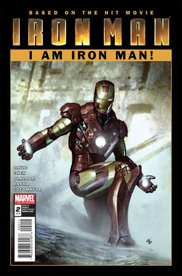 Iron Man: I Am Iron Man! 2-A by Marvel
