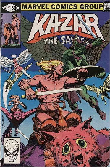 Ka-Zar the Savage 3-A by Marvel