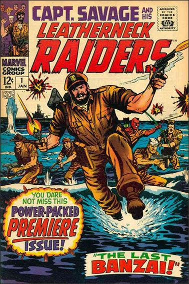 Capt. Savage and His Leatherneck Raiders 1-A by Marvel