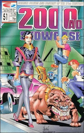 2000 A.D. Showcase (1988) 51-A by Quality Comics