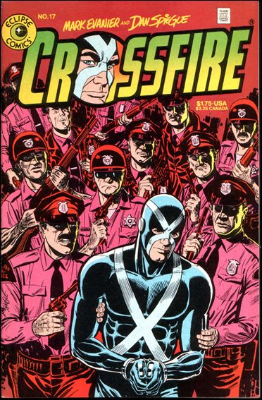 Crossfire (1984) 17-A by Eclipse