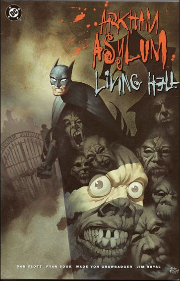 Arkham Asylum: Living Hell 1-A by DC