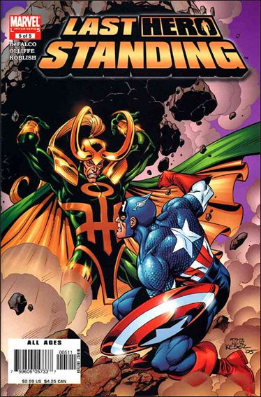 Last Hero Standing 5-A by Marvel