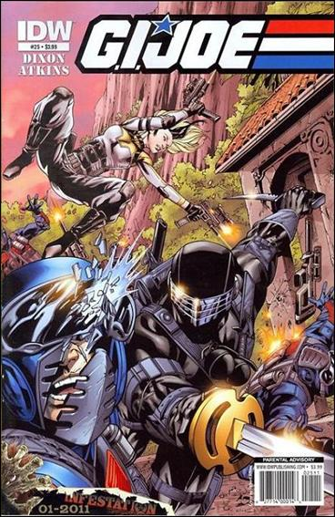 G.I. Joe (2008) 25-A by IDW