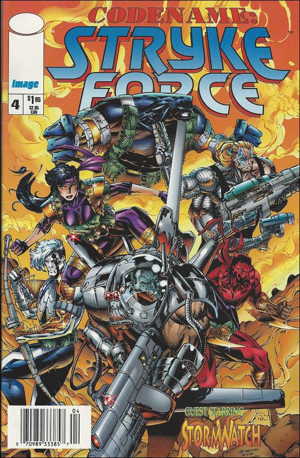 Codename: Stryke Force 4-B by Image