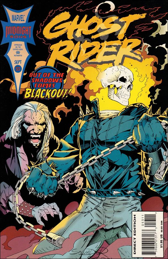 Ghost Rider (1990) 53-A by Marvel