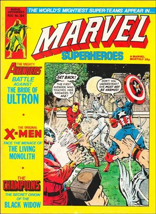 Marvel Superheroes (UK) 364-A