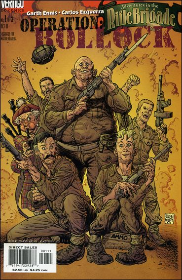Adventures in the Rifle Brigade: Operation Bollock 1-A by Vertigo