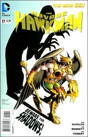 Savage Hawkman 17-A by DC