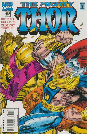 Thor (1966) 481-A by Marvel