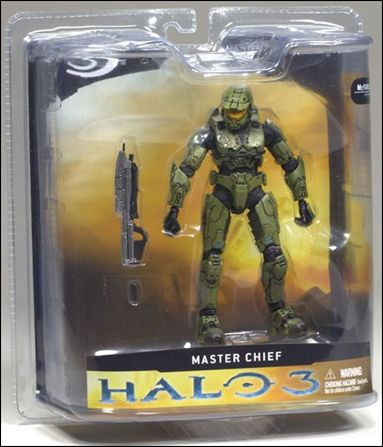 Halo 3 Campaign (Series 1) Master Chief by McFarlane Toys