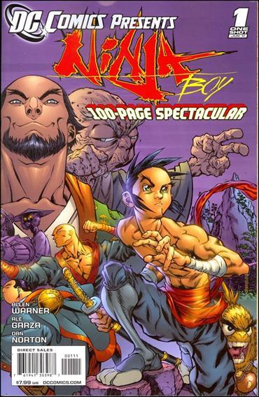 DC Comics Presents: Ninja Boy 1-A by DC