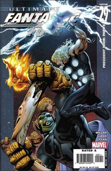 Ultimate Fantastic Four 29-A by Marvel