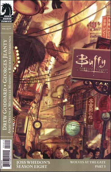 Buffy the Vampire Slayer Season Eight 14-A by Dark Horse