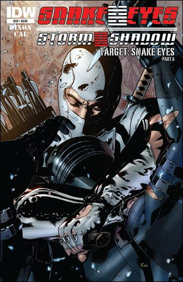 Snake Eyes and Storm Shadow 20-A by IDW