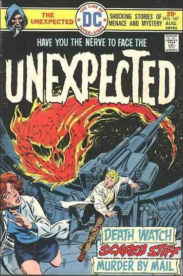 Unexpected (1968) 167-A by DC