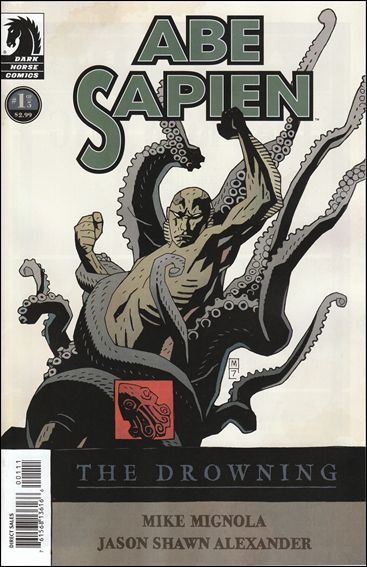 Abe Sapien: The Drowning 1-A by Dark Horse